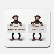 MONKEYING AROUND Mousepad