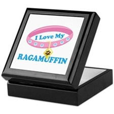 I Love My Ragamuffin Cat Keepsake Box