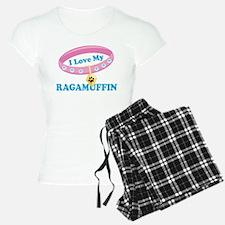 I Love My Ragamuffin Cat Pajamas