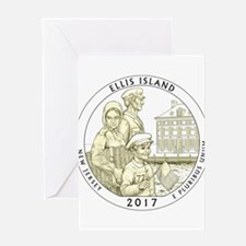 New Jersey Quarter 2017 Greeting Card