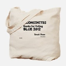 Wisconsin Votes Blue Tote Bag