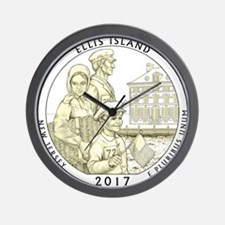 New Jersey Quarter 2017 Wall Clock