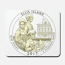 New Jersey Quarter 2017 Mousepad