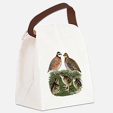 Bobwhite Family Canvas Lunch Bag