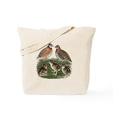 Bobwhite Family Tote Bag