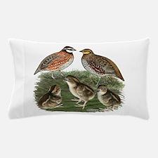 Bobwhite Family Pillow Case