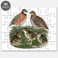 Bobwhite Family Puzzle