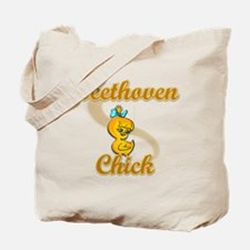 Beethoven Chick #2 Tote Bag