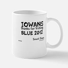 Iowa Votes Blue Mug