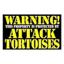 Attack Tortoises Sticker (3 x 5)