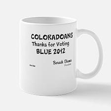 Colorado Votes Blue Mug
