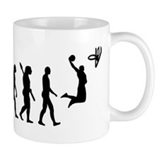 Evolution Basketball Mug