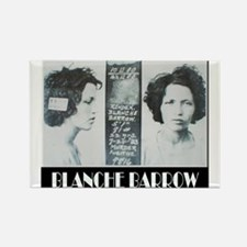 Blanche Barrow Rectangle Magnet