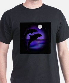 Dolphins At Midnight T-Shirt