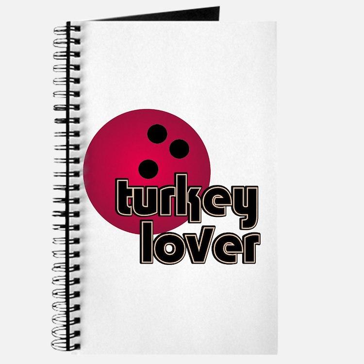 Turkey Lover Bowling Ball Journal