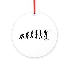 Evolution Biathlon Ornament (Round)
