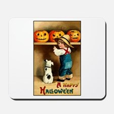 Country Store Halloween Mousepad