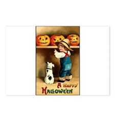 Country Store Halloween Postcards (Package of 8)