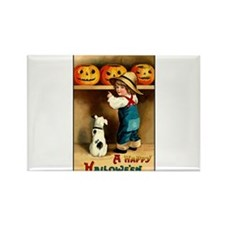 Country Store Halloween Rectangle Magnet