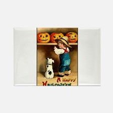 Country Store Halloween Rectangle Magnet (100 pack