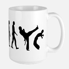 Evolution Capoeira Ceramic Mugs