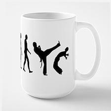 Evolution Capoeira Large Mug