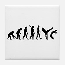Evolution Capoeira Tile Coaster