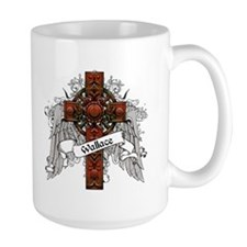 Wallace Tartan Cross Mug