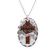 Wallace Tartan Cross Necklace
