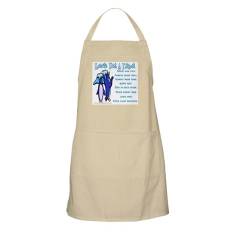 Lessons from a penguin BBQ Apron