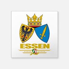 "Essen COA.png Square Sticker 3"" x 3"""
