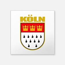 "Koln.png Square Sticker 3"" x 3"""