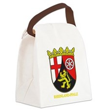 Rheinland-Pfalz (gold).png Canvas Lunch Bag
