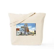 Vintage Georgia Street Scene Tote Bag