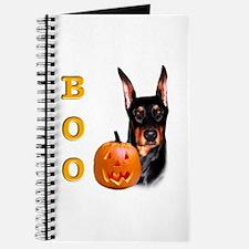 Halloween Doberman Boo Journal