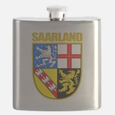 Saarland COA.png Flask