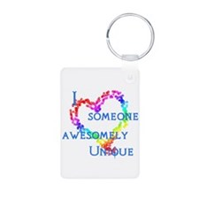 Love Awesomely Unique Aluminum Photo Keychain