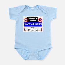 Gary Johnson for President Infant Bodysuit