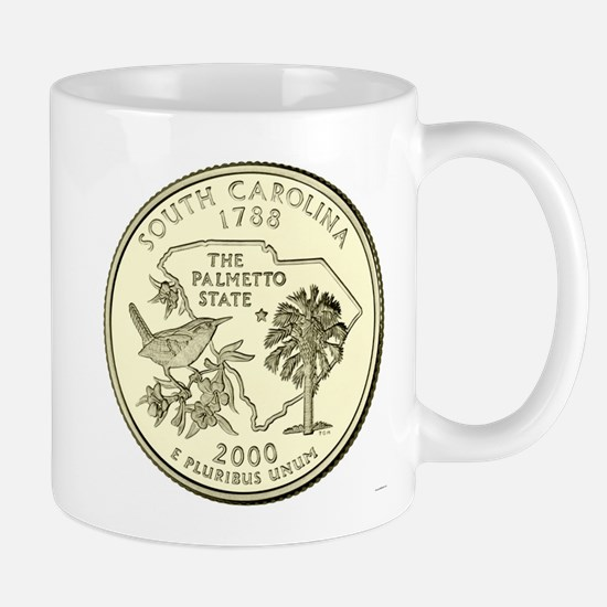 South Carolina Quarter 2000 Basic Mugs