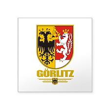 """Gorlitz COA.png Square Sticker 3"""" x 3"""""""
