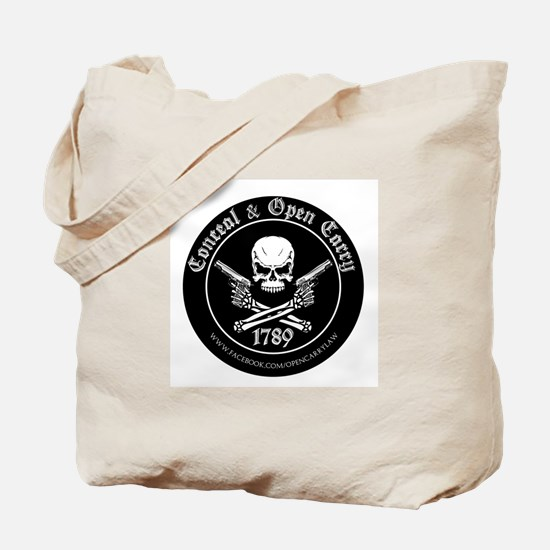 Open Carry & Concealed Carry Logo Tote Bag