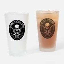 Open Carry & Concealed Carry Logo Drinking Glass