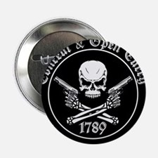 """Open Carry & Concealed Carry Logo 2.25"""" Button"""