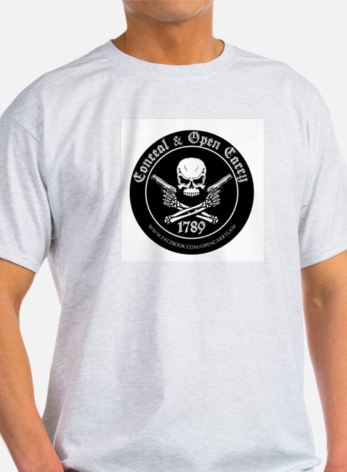 Open Carry & Concealed Carry Logo T-Shirt