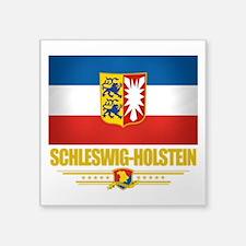 "Schleswig-Holstein (Flag 10).png Square Sticker 3"""