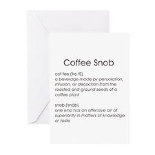 Coffee Snob Greeting Cards (Pk of 10)