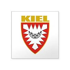 """Kiel (gold).png Square Sticker 3"""" x 3"""""""