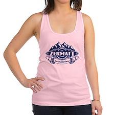 Zermatt Mountain Emblem Racerback Tank Top