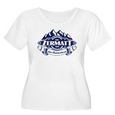 Zermatt Mountain Emblem T-Shirt