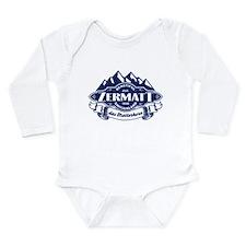 Zermatt Mountain Emblem Long Sleeve Infant Bodysui